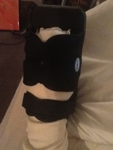 Rocking the Orthopaedic Boot!