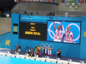 Medal Ceremony (Gold, Russia - Silver, Spain - Bronze, China)