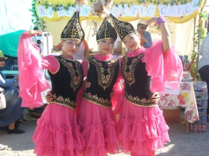 Traditional Kazakh Dress