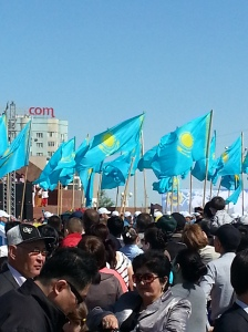 Kazakh Flags