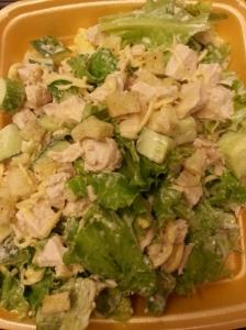 Caesar Salad with actual Lettuce!