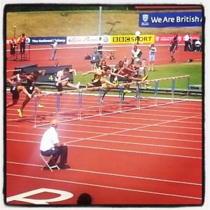 Men's 110 metre hurdles