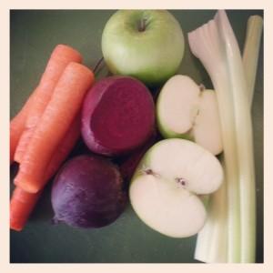 Beetroot, Apple, Celery, Carrot