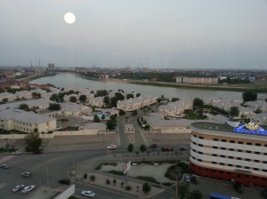 View across the Ural River