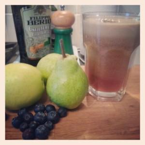 Blue n Green Juice