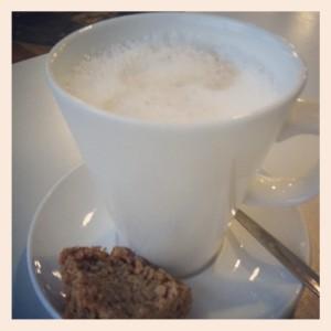 Latte & Flapjack