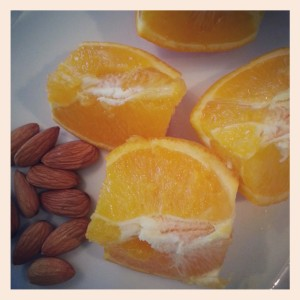 Orange & Almonds